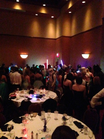 Star Wars prom - dance party