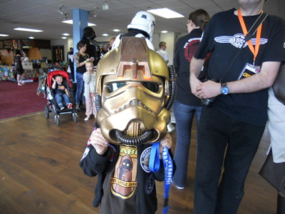 Burnley Star Wars fan