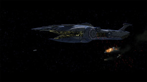 The Separatist battleship Malevolence