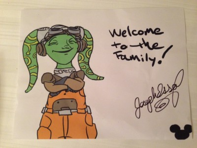 Later I had another autograph signing, and fans brought me their art to sign!