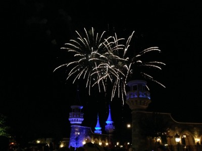Then I got to see spectacular fireworks!