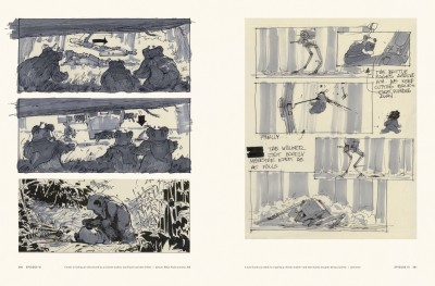 Star Wars Storyboards: The Original Trilogy interiors, Return of the Jedi