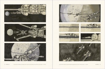 Star Wars Storyboards: The Original Trilogy interiors, A New Hope