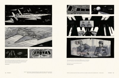 Star Wars Storyboards: The Original Trilogy interiors, The Empire Strikes Back