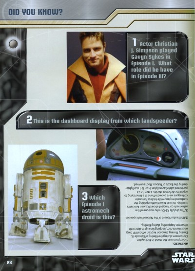 Christian J. Simpson in Star Wars: The Official Starships and Vehicles Collection #62