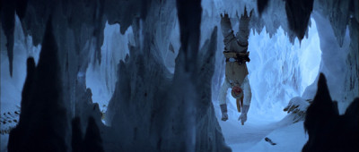 Luke Skywalker in the wampa's cave