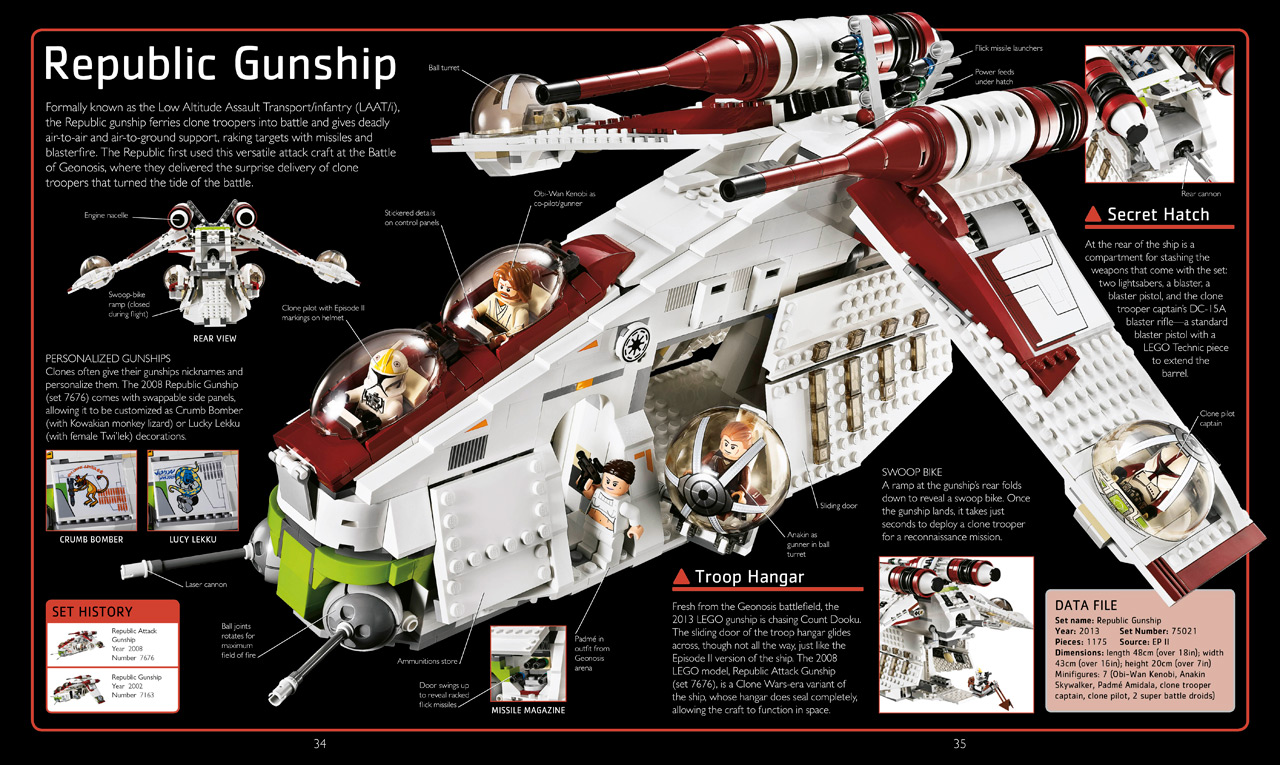 Lego Star Wars The Visual Dictionary Updated And