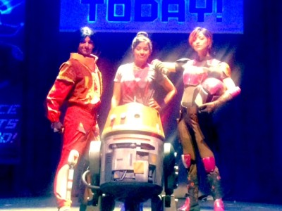 Tiya Sircar at Star Wars Weekends' Behind the Force: Star Wars Rebels show