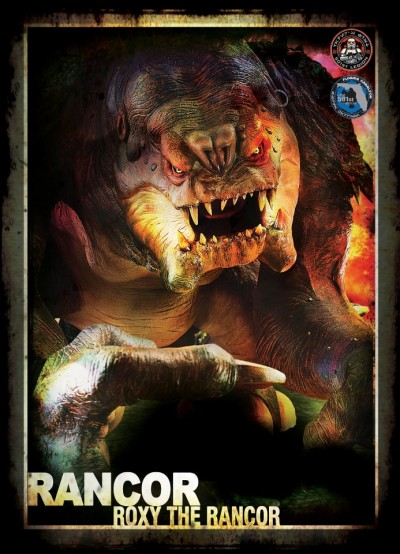 Roxy the Rancor - 501st Legion card