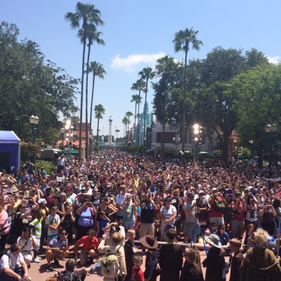 Star Wars fans at Star Wars Weekends