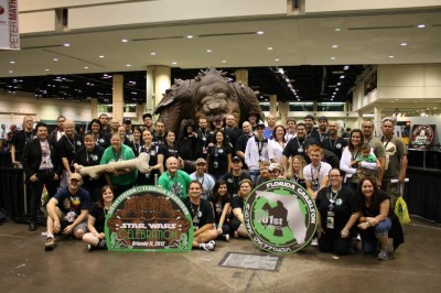 501st Legion with Roxy the Rancor