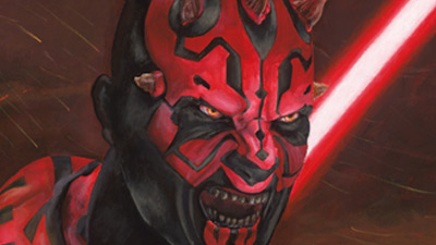 Darth Maul painting