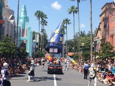 The Star Wars Weekends Motorcade