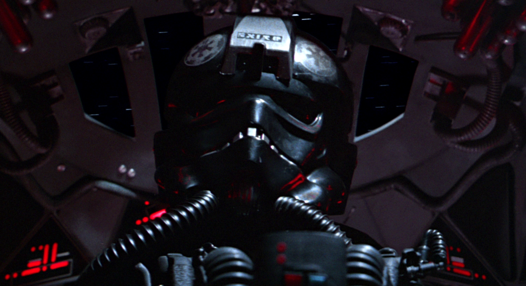 TIE fighter pilot from A New Hope