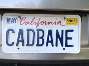Consetta Parker's Star Wars license plate