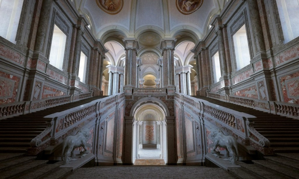 The Honour Grand Staircase.