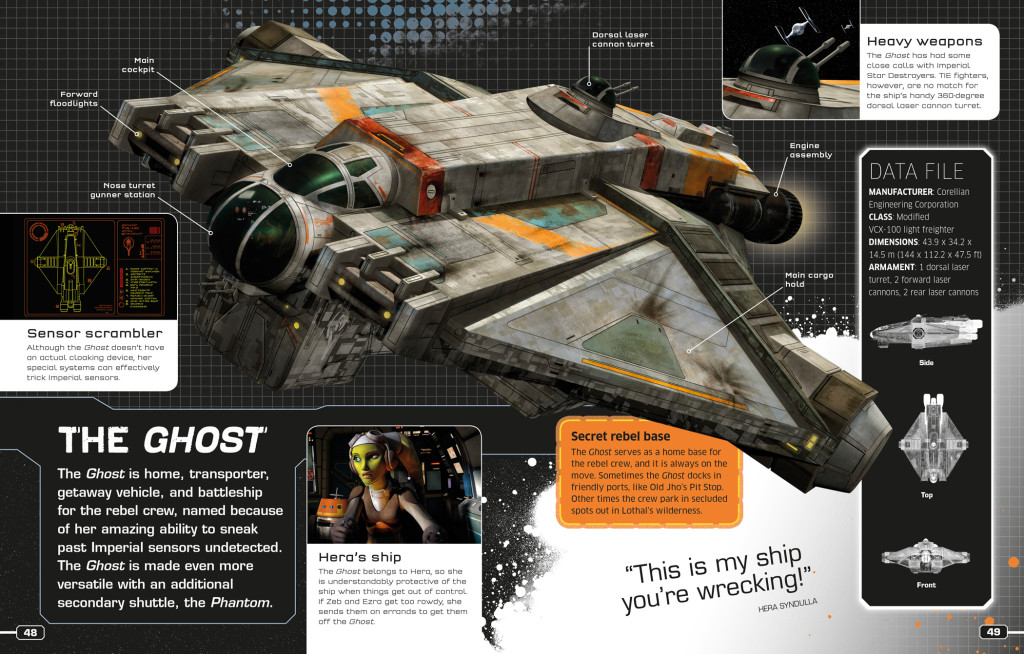 Star Wars Rebels: The Visual Guide - The Ghost
