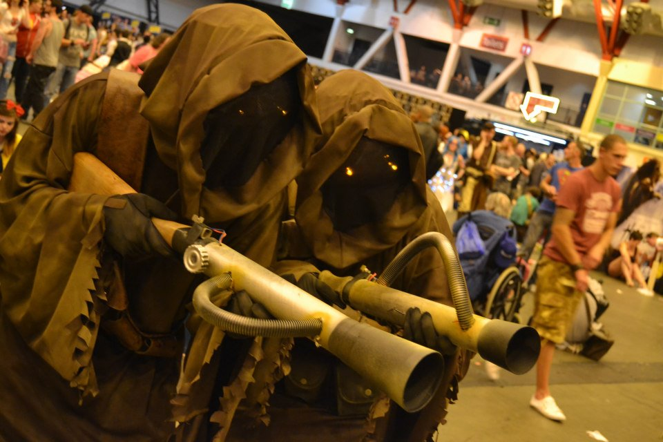 Jawas at the London Film and Comic Con
