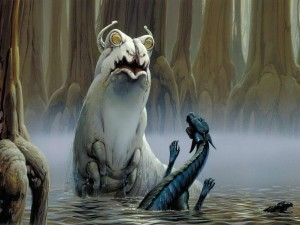 Swamp Slug vs. Dragonsnake (McQuarrie)