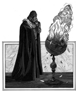 Vader in Shakespeare's Star Wars