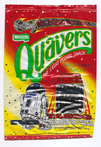 Walkers Quavers, Tangy Tomato, 1997