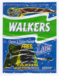 Walkers, Cheese and Onion, 1997