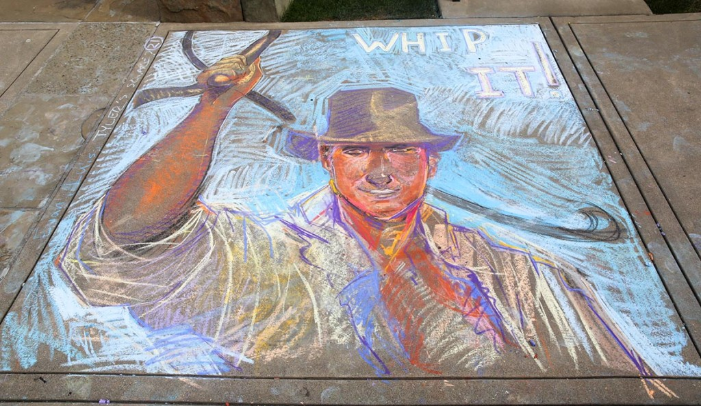 "Best Indiana Jones Inspired Square: ""Indy's Whip It!"" by Panther Brothers"