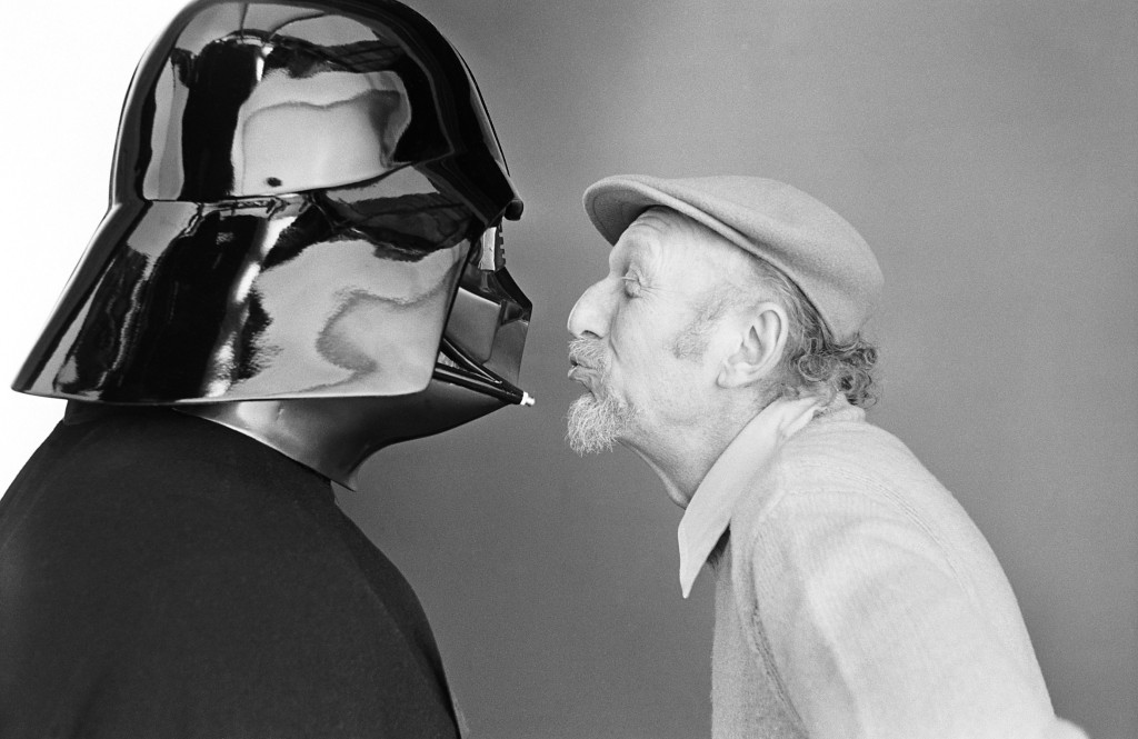 Darth Vader and Irvin Kershnet