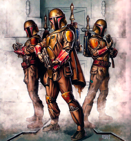"""Legends"" material describes Mandalorian Protectors as being recruited from Mandalorian Police units."