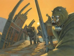Tusken Raiders by McQuarrie