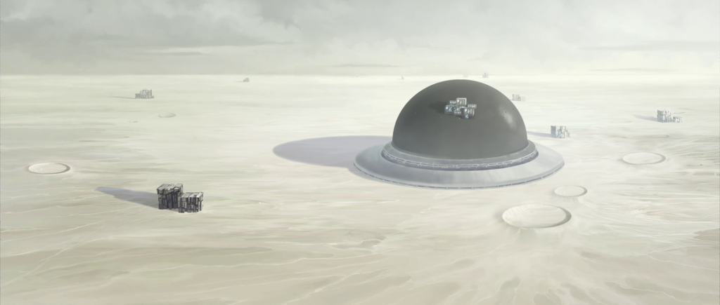Areas of Mandalore were turned to white-sand desert by Republic bombardment in 728bby.