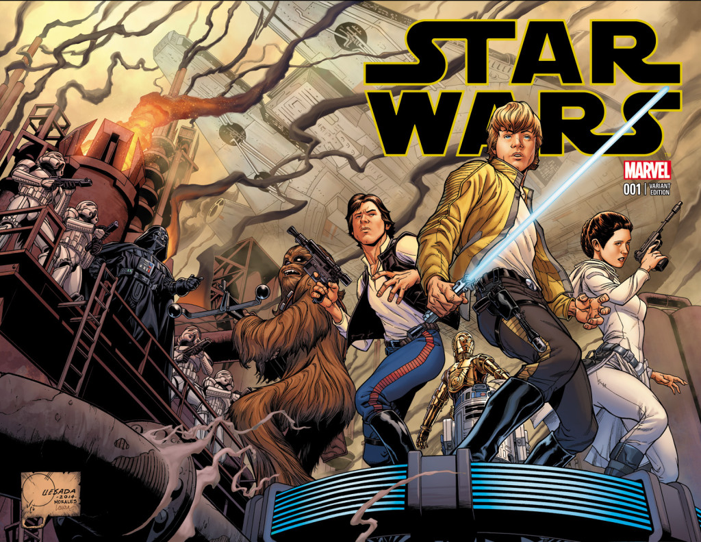 Star Wars #1 variant cover by Joe Quesada
