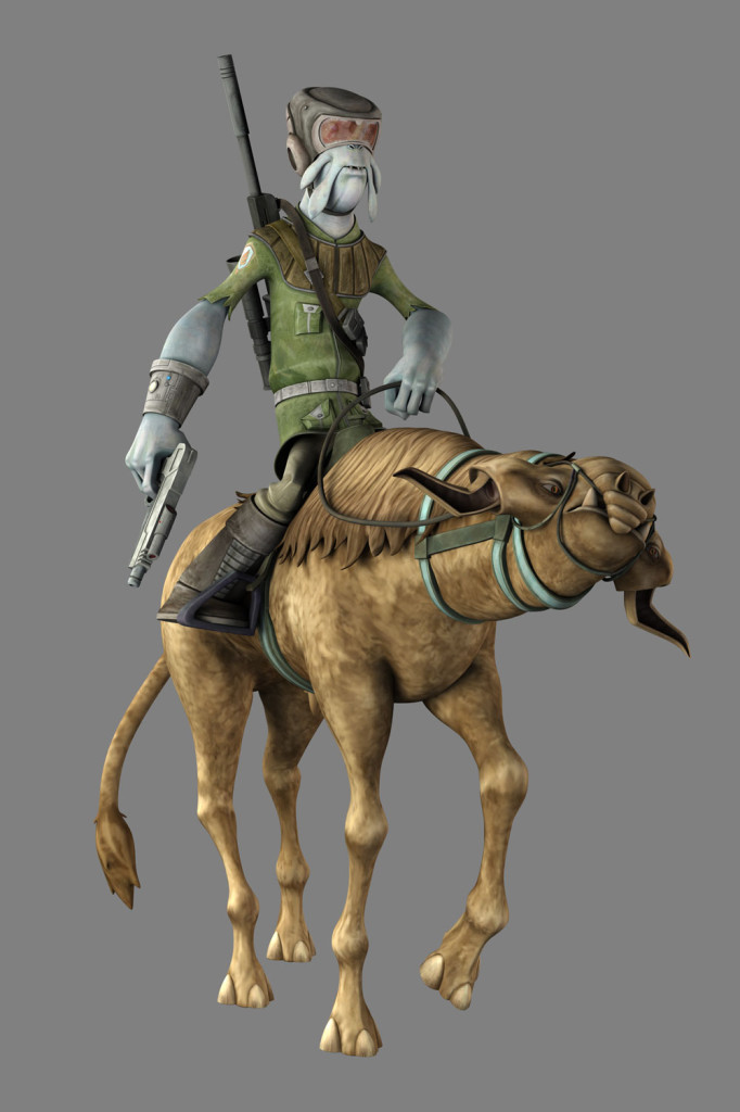 Tee-muss from Star Wars: The Clone Wars