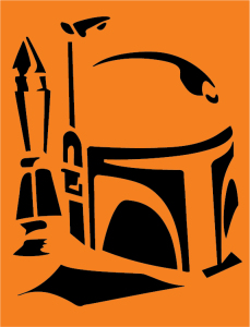 image about Star Wars Pumpkin Stencils Printable called Do-it-yourself Star Wars Pumpkin Stencils