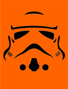 photograph relating to Star Wars Pumpkin Stencils Free Printable known as Do it yourself Star Wars Pumpkin Stencils
