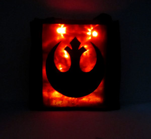 Rebel Alliance bag glowing