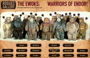 Rogues Gallery from 'Star Wars Insider 137'