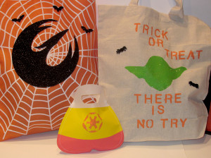Star Wars trick or treat bags - half 1