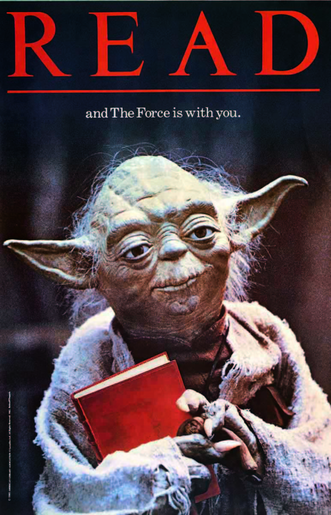 Yoda READ poster (official)
