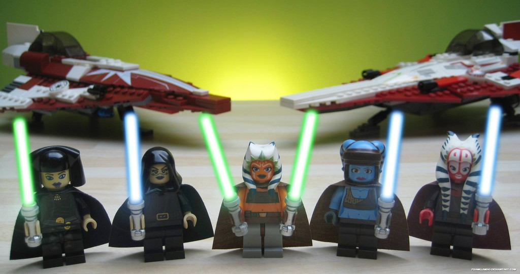 """It's Ladies Night At The Jedi Temple"" LEGO photo"