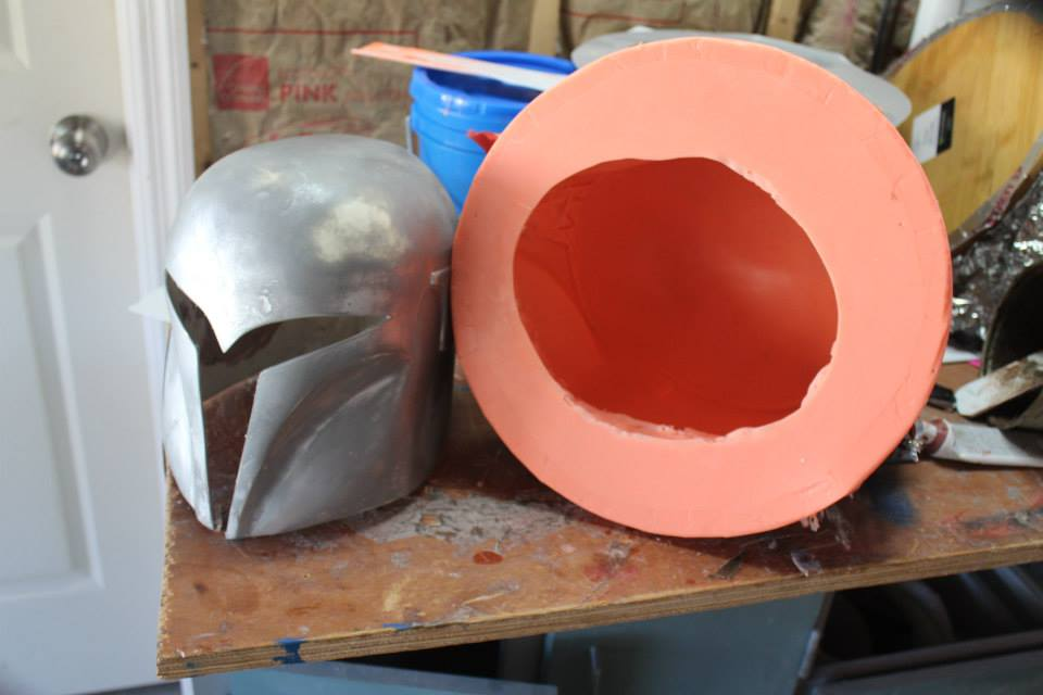 "A great deal of time, work, and money goes into creating a helmet mold. It helped that Sabine's helmet is very similar to a Night Owl helmet from ""The Clone Wars""."