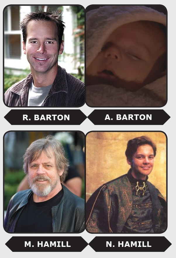 The real-life Skywalkers.