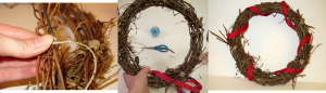 Life Day Wreath 2 branches and ribbons-resized