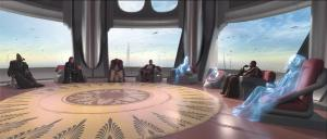 Possibly the last Jedi High Council meeting