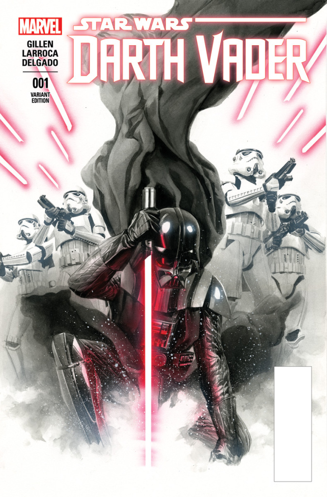 Star Wars: Darth Vader #1 variant cover by Alex Ross