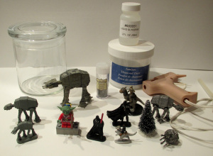 Hoth Snowglobe supplies