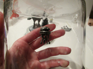 hoth snowglobe imperial probe droid