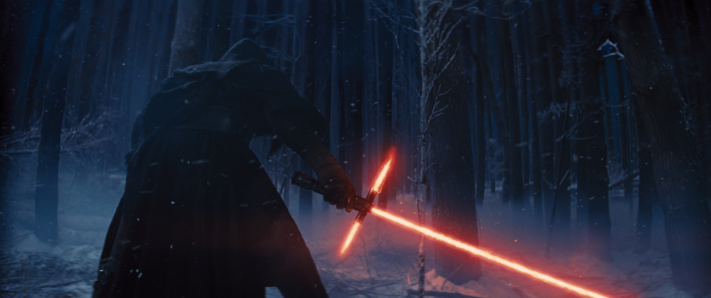 The Force Awakens - Kylo Ren on Starkiller Base