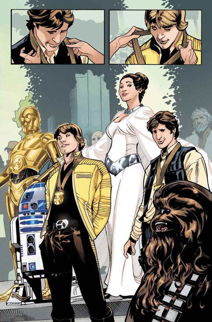 Star Wars: Princess Leia #1 - page 1