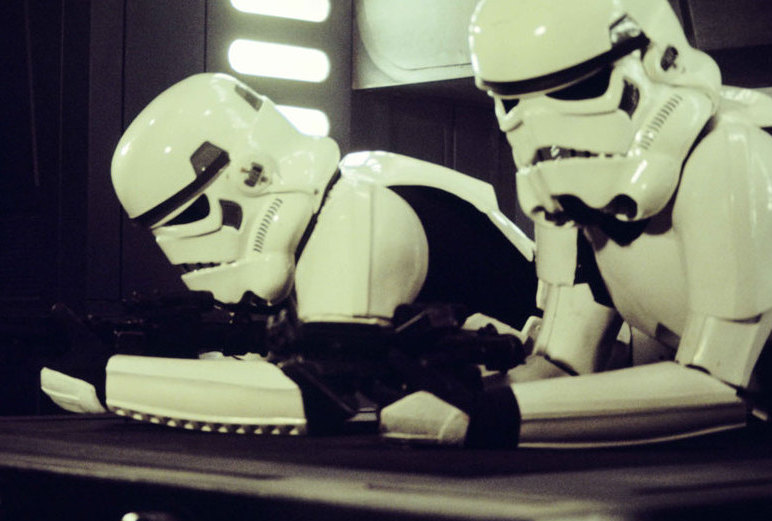 Stormtroopers Shooting